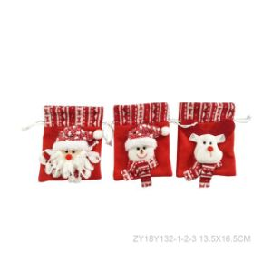 Colorful Christmas Gift Packing Bag pictures & photos