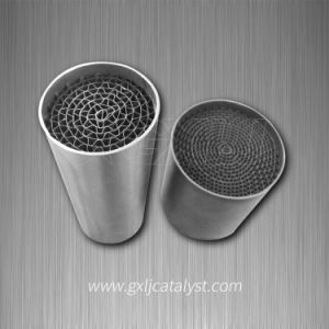Automotive Metal Honeycomb Catalytic Converter (Euro V emission standards) Substrate pictures & photos