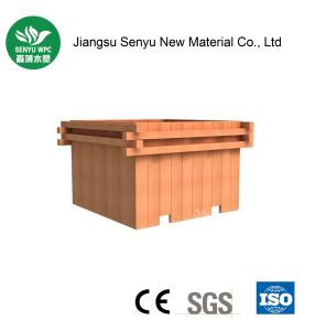 Green Material WPC Outdoor Flower Box pictures & photos