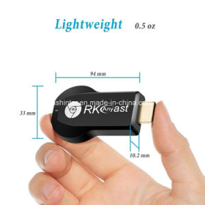 Rkcast TV Stick Rk3036 Dual Core 1080P H. 265 Anycast Miracast Dongle WiFi Display Receiver pictures & photos