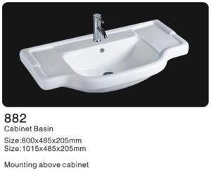 Ceramic Cabinet Washbasin, Bathroom Ceramic Cabinet Basin pictures & photos