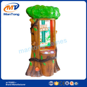 Hot Sale Entertainment Devices Crazy Cutter Coin Operated Arcade Kids Hitting Button Ticket Game Machine pictures & photos