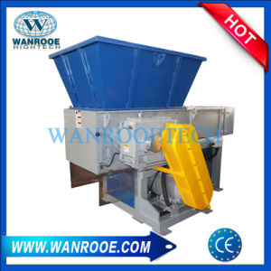 Single Shaft Plastic Shredding Machine for Chipper and Metal Recycling pictures & photos