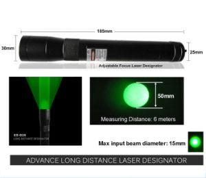New Long Distance 100mw Green Laser Designator / Sight (ES-G25-H) pictures & photos