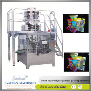Automatic Cookies Stand up Pouch Filling and Sealing Packing Machine pictures & photos