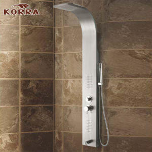 Stainless Steel Panel in Brush Nickle Finish Shower Column, Shower Panel (K2209) pictures & photos