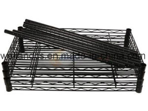 NSF Approval 4 Tiers Sundries Storage Shelving Metal Kitchen Wire Rack From Shelf Factory pictures & photos