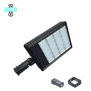 IP65 LED Shoebox Light with Meanwell Driver 100W LED Parking Lot Light pictures & photos