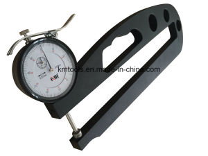 0-20mm Deep Throat Thickness Gauge with 300mm Throat Depth pictures & photos