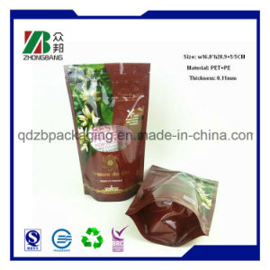 Custom Printing Plastic Stand up Food Packaging Pouch with Zipper pictures & photos