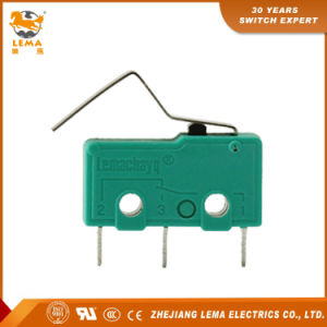 Kw12-3s Actuator Subminiature Micro Switch Snap Action Mini Micro Switch pictures & photos