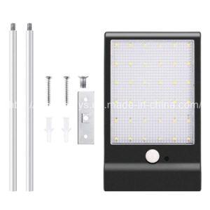 PIR Sensor IP65 6W 36LEDs Solar LED Wall Light pictures & photos