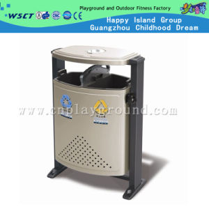 Hot Sale Advertising Garbage Bin Double Bin Trash Can on Stock (HD-18413AS) pictures & photos