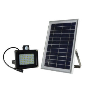 54 LED Outdoor Solar Motion Sensor Floodlight PIR Security Night Light Waterproof Wall Mount Lamp pictures & photos