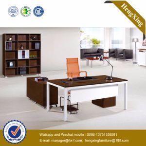 Melamine Laminated MDF Manager Office Desk (HX-UN042) pictures & photos