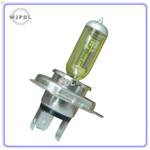 Headlight H4 24V Yellow Halogen Car Light/Lamp pictures & photos