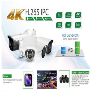 Surveillance Camera IP Came Lower Price-4K Bullet Camera High Solution pictures & photos