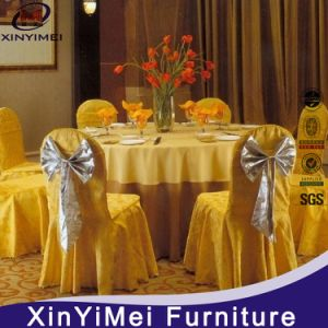 Wedding White Elastic Chair Cover (XY21) pictures & photos