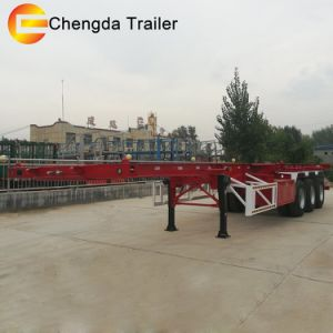 Container Transport Semi Trailer, Chassis Trailer Truck pictures & photos