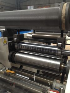 Rotary Die-Cutting and Slitting Machine with Turret Rewinding pictures & photos