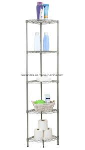 Triangle Corner Metal Bathroom Rack & Multi-Functional Bath Shelf, Hot Sale 60 Countries pictures & photos