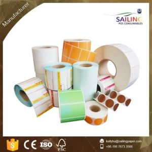 Grade a Quality Self Adhesive Thermal Label Roll pictures & photos