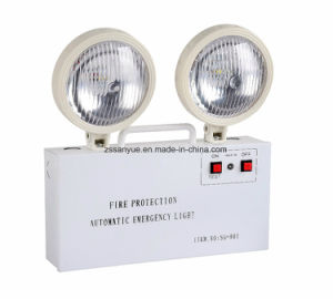 Emergency Lighting Non-Maintain Double Heads LED Fire Exit Light pictures & photos
