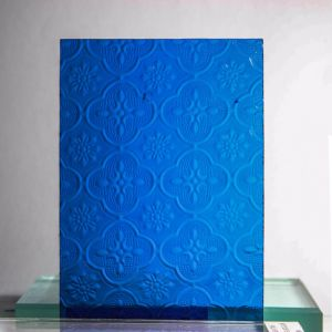 Figured Glass/ Rolled Glass/Art Glass/Patterned Glass/Textured Glass/Amber Karatachi Glass/Blue Mislite Glass/Bronze Beehive Glass pictures & photos