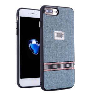 Newst Style Linen Phone Case Cover for iPhone pictures & photos
