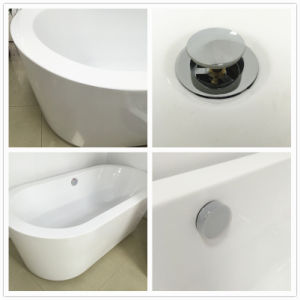 Corian Solid Surface Freestanding Bathtub (BS-8618) pictures & photos