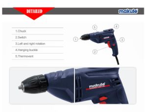 450W High Speed Drill 10mm Electric Drill with CE (ED008) pictures & photos