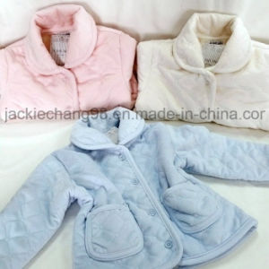Ultrasonic Baby Jacket / Micro Mink with Sherpa pictures & photos