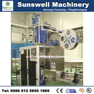 Sunswell Automatic Labeling Bottles Machine pictures & photos