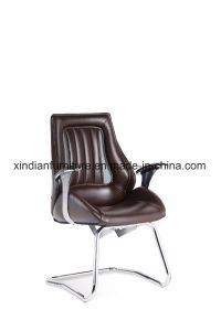 Modern Fixed Meeting Chair with Leather Faced pictures & photos