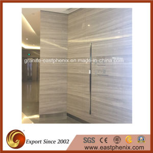Polished Guizhou Wood Line Marble Stone Tile for Exterior Wall Tile pictures & photos