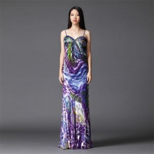 Ld0175 Women Evening Dress Hot Sexy Night Maxi Dress