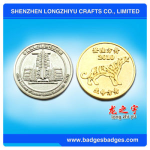 3D Small Metal Coin with Funny Logo pictures & photos