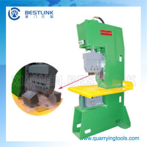 China Supplier Open Frame Stone Guillotine for Granite Block pictures & photos