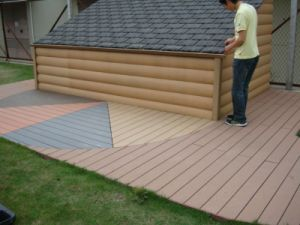 Waterproof Outdoor Floor Coveringwpc Decking pictures & photos