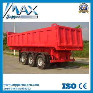 Tipper / Dumper Tri-Axles Semi-Trailer (24CBM) pictures & photos