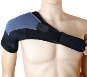 Sporting Shoulder Guard Wrap Support Pad pictures & photos