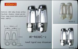 Hotel 400ml Chrome Liquid Soap Dispenser pictures & photos