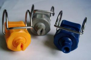 Flat Fan, Full Cone Pipe Clamp Water Spray Nozzle pictures & photos