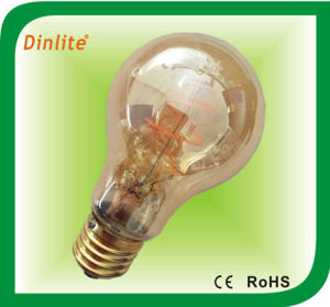 Hot sale A19 Gold screw filament LED light bulb pictures & photos