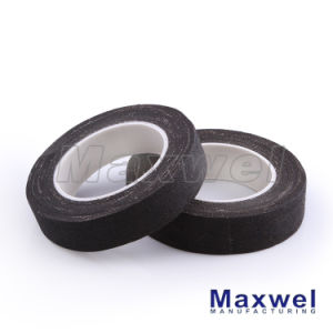 Rubber Adhesive Black Fabric Tape pictures & photos