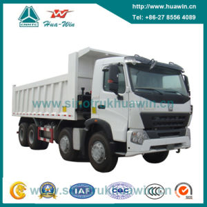 Sinotruk HOWO A7 8X4 Dump Truck pictures & photos
