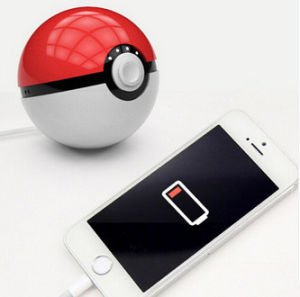 Pokemon Go Pokeball Power Bank with Night Lamp pictures & photos