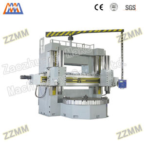 Conventional Double Column Vertical Lathe Machine (C5250D*25/40) pictures & photos