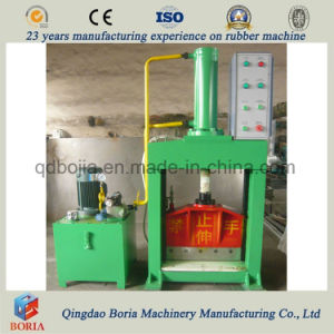 ISO Certification Hydraulic Rubber Sheet /Tire Cutting Machine pictures & photos