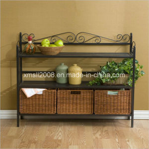 Baker′s Rack Metal Display Rack Kitchen Rack with CE (G-KB07) pictures & photos